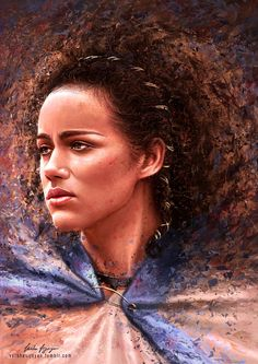 Missandei by VarshaVijayan.deviantart.com on @DeviantArt