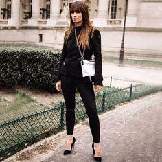 "86 likerklikk, 2 kommentarer – @lestylealafrancaise på Instagram: ""❤️Le style à la française // #frenchgirl #frenchygirl  #parisian #paris #parisienne  #celebstyle…"""