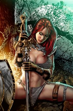 Red Sonja by Wagner Reis