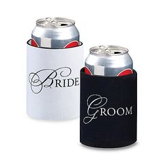 Bride and Groom Cup Cozies