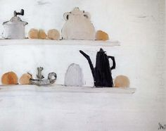 The Shelf, by Nicolas de Staël, 1955 (France)