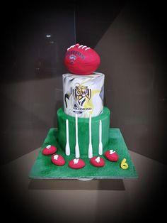 Richmond Afl Cake | Tiger cake, 18th birthday cake ...