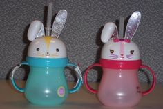 Bunny sippy cups sold at Target are being recalled because the ears can poke kids in the eye when they go to drink from them.