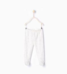 Image 1 de Lot de deux leggings à pieds de Zara