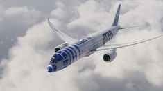 Star Wars no Boeing 787-9 · Aeromagazine