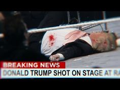 Donald Trump Shot on Stage Donald Trump Wife, Stage, Tattoos, Youtube, Tatuajes, Tattoo, Youtubers, Tattos, Youtube Movies