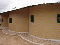 house made of bottles nigeria