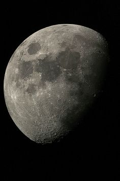 Moon seen from Pretoria, South Africa .
