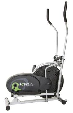 """$129.95 This patented elliptical rider allows users to perform upper and lower body workouts with """"zero"""" impact. The fan wheel runs quietly & smoothly. You may choose your desired workout resistance level by adjusting the friction belt tension control knob. A workout video is included."""