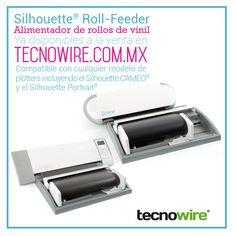 El nuevo Alimentador de Rollo de Viniles / Roll Feeder de Silhouette ya esta disponible!   Permite colocar un rollo frente al equipo y mantenerlo alineado todo el tiempo para brindar cortes de vinil constantes sin preocuparse de la perdida de ajuste o alineación del material.  Adquiere tu Roll Feeder en la tienda en linea http://www.tecnowire.com.mx/herramientas-accesorios-silhouette/accesorios-silhouette/roll-feeder-silhouette-alimentador-de-rollos-de-vinil