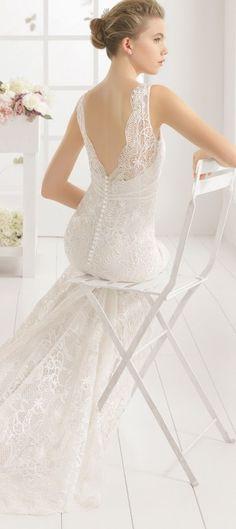 Lace Back Wedding Dresses - Belle The Magazine