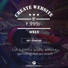 Create website at the price of Rs 999/- only