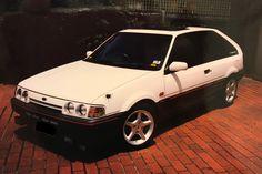 AVO Laser KE TX3 4WD Turbo Mazda Familia, Mazda Cars, Ford, Vehicles, Motors, Autos, Modern, Car, Vehicle