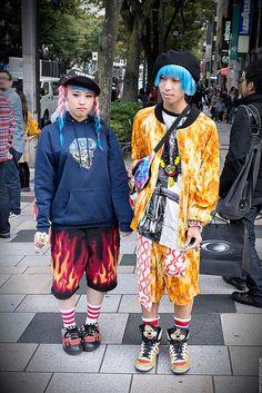 Harajuku on Fire   Flickr - Photo Sharing!