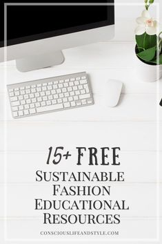 This is your ultimate guide to free sustainable fashion educational resources: discover courses, podcasts, digital publications, and newsletters for learning about labor rights, eco fabrics, decarbonization, and more. Fashion Documentaries, Ethical Fashion Brands, Fashion Bloggers, Fashion Courses, Eco Friendly Fashion, Blog Topics, Consumerism, Blog Writing, First Year