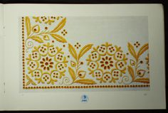 Book Czech Slovak Folk Embroidery Patterns Ethnic Peasant Charted...