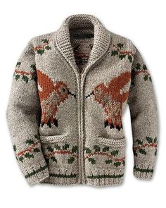 Cowichan Sweater Things You Should Know 7 - Merys Stores Casual Wear Women, Suits For Women, Cool Sweaters, Vintage Sweaters, Cowichan Sweater, Wool Cardigan, Sweater Making, Hand Knitting, Knitwear
