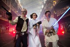 The MythBusters Take on Star Wars—See Photos Here! | Mental Floss