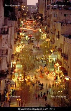 Jerusalem, Ben Yehuda street.  Love Love Love walking down and shopping on this street. The Best!
