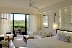 The Romanos, a Luxury Collection Resort, Costa Navarino - Deluxe Sea Room - golf view