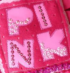 A fabric book all about P!nk!