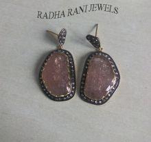 Ruby Light (Tourmaline) Earrings,