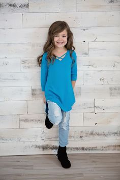 Little Girls Basic Top, Criss Cross Back Top, Mommy and Me, Online Shopping, Online Boutique, Ryleigh Rue Clothing, Clothing, Spring Fashion