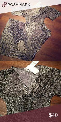 Kimono style maxi nwt Print kimono style maxi. 5th & Love collection Dresses Maxi