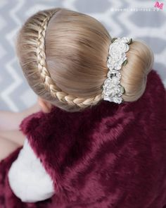 160 Braids Hairstyle Ideas for Little Kids 2019 - # types of Braids for kids Ballet Hairstyles, Cute Braided Hairstyles, Cute Hairstyles For Kids, Bun Hairstyles, Wedding Hairstyles, Hairstyle Ideas, Simple Hairstyles, Black Hairstyles, Types Of Braids