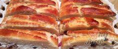 Recept Prokládaný tvarohový koláč s rozinkami Hot Dog Buns, Hot Dogs, Pavlova, Lasagna, Nutella, French Toast, Food And Drink, Bread, Breakfast