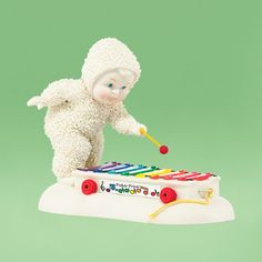SnowBabies Fisher Price Pull-A-Tune 4038111 Department 56 NIB