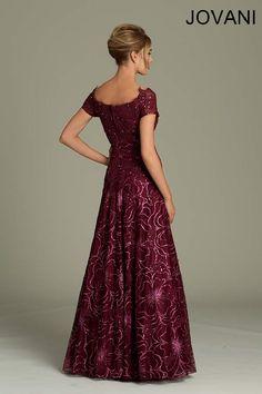 Printed Jovani gown