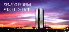Brasil-Congresso Nacional-2007-Charge-Nota de falecimento