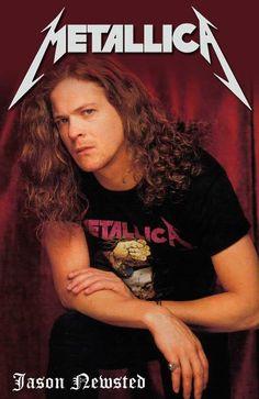 Metallica Jason Newsted m/ Cliff Burton, Robert Trujillo, James Hetfield, Blade Runner, Jason Newsted Metallica, Autos Ford, Rock Bottom, Thrash Metal, Metalhead