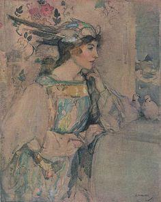 Eager Heart, Edward Arthur Walton, Studio: International Art, 1924.