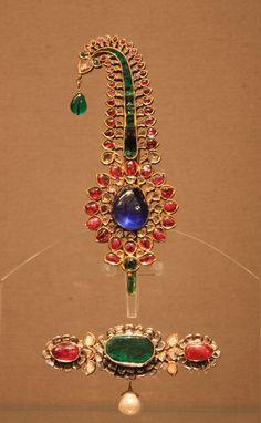 Mughal turban ornaments