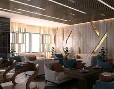Contemporary Apartment Design on Behance Luxury Apartments, Luxury Living Room, Apartment Design, Modern House Design, Bedroom Design, Contemporary Apartment, House Interior, Home Interior Design, Living Room Designs