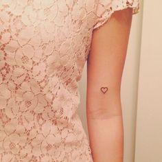 35 Mini Tatuagens Em TraçO Preto