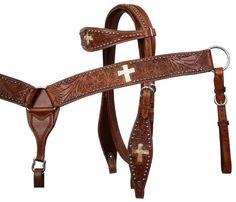 Meece Saddlery - Tack set by Showman�. 7168, $90.95 (http://www.meecesaddlery.com/7168/)