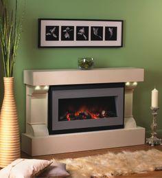 Flamerite Sans Sino Electric Fireplace S Electric Fireplace Suites, Fire Surround, Electric Fires, Contemporary Interior Design, House, Design Ideas, Wallpapers, Spring, Home Decor