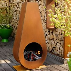 Outdoor Metal Fire Place