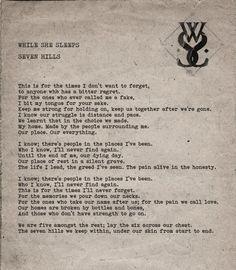 While She Sleeps - Seven Hills<3