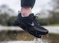 Chaussure Nike Air Zoom Spiridon Ultra Noir Black Bright Crimson