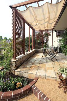 37 ideas pergola patio deck gardens for 2019 Diy Pergola, Pergola With Roof, Cheap Pergola, Pergola Shade, Diy Patio, Backyard Patio, Pergola Ideas, Patio Ideas, Pergola Pictures