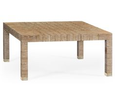 """""""Classic Houndstooth"""" coffee table"""