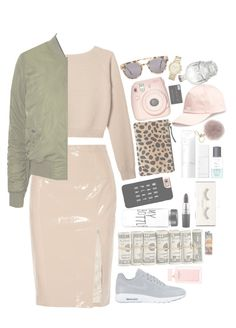 """""""•Till I Die- Chris Brown•"""" by ranyastyles on Polyvore featuring Clare V., NIKE, NARS Cosmetics, Casetify, MAC Cosmetics, H&M, MICHAEL Michael Kors, Emilio Pucci, Komono and Michael Kors"""