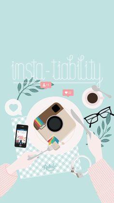 Instagram iPhone Lock Wallpaper @PanPins