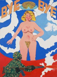 Bye Bye Miss American Pie Robert Colescott b.1925