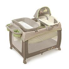 """InGenuity Deluxe Washable Play Yard with Dream Centre - Shiloh - Bright Starts - Babies""""R""""Us $179.99"""