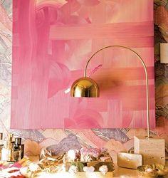Blush & Gold | Stacy Nance Interiors